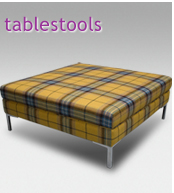 Footstools, cubes, and ottomans for every interior, from The Footstool  Company